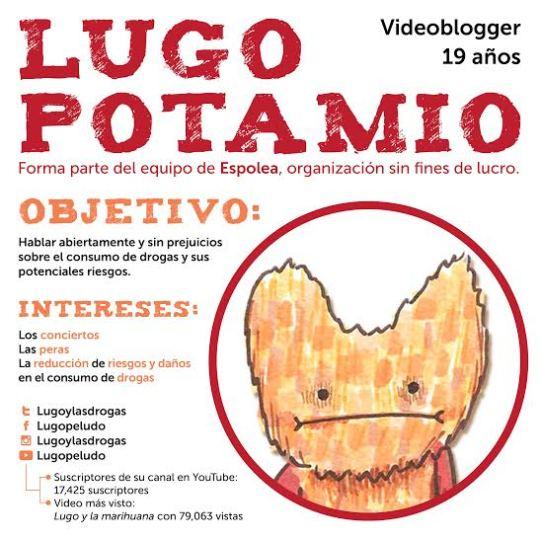 Lugo y las drogas: videoblog sobre consumo de drogas y sus riesgos
