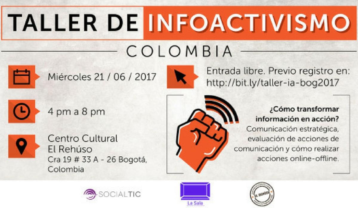 Talleres de Infoactivismo en Colombia