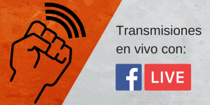 Transmisiones en vivo por fb live