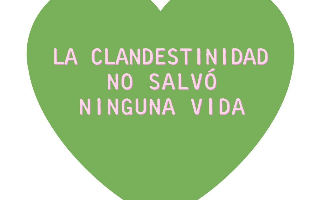 Tuitazo del #8A: #LaClandestinidadNOseFesteja