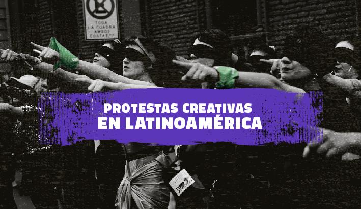 La protesta creativa entre el internet y la calle