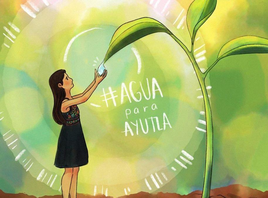 Ilustratona tuitera por Ayutla mixe