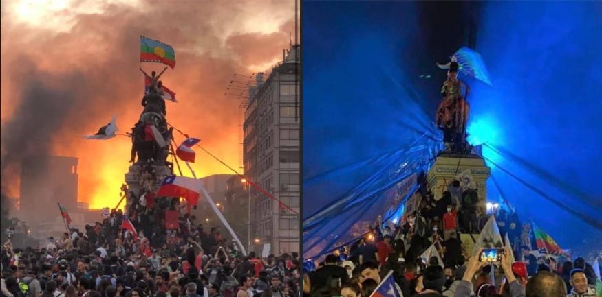 De la protesta social al plebiscito: un año de activismos en Chile