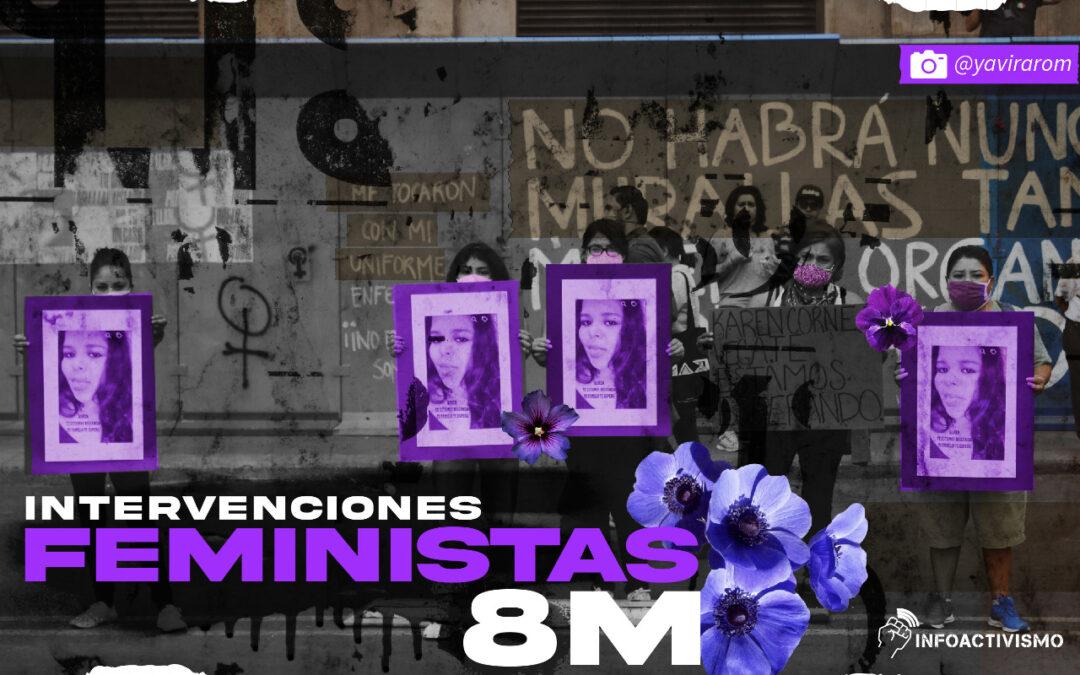Intervenciones feministas del #8M: ¿qué sigue?