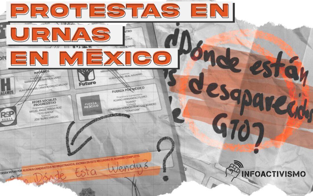 Protesta en las urnas: elecciones, feminicidios y personas desaparecidas