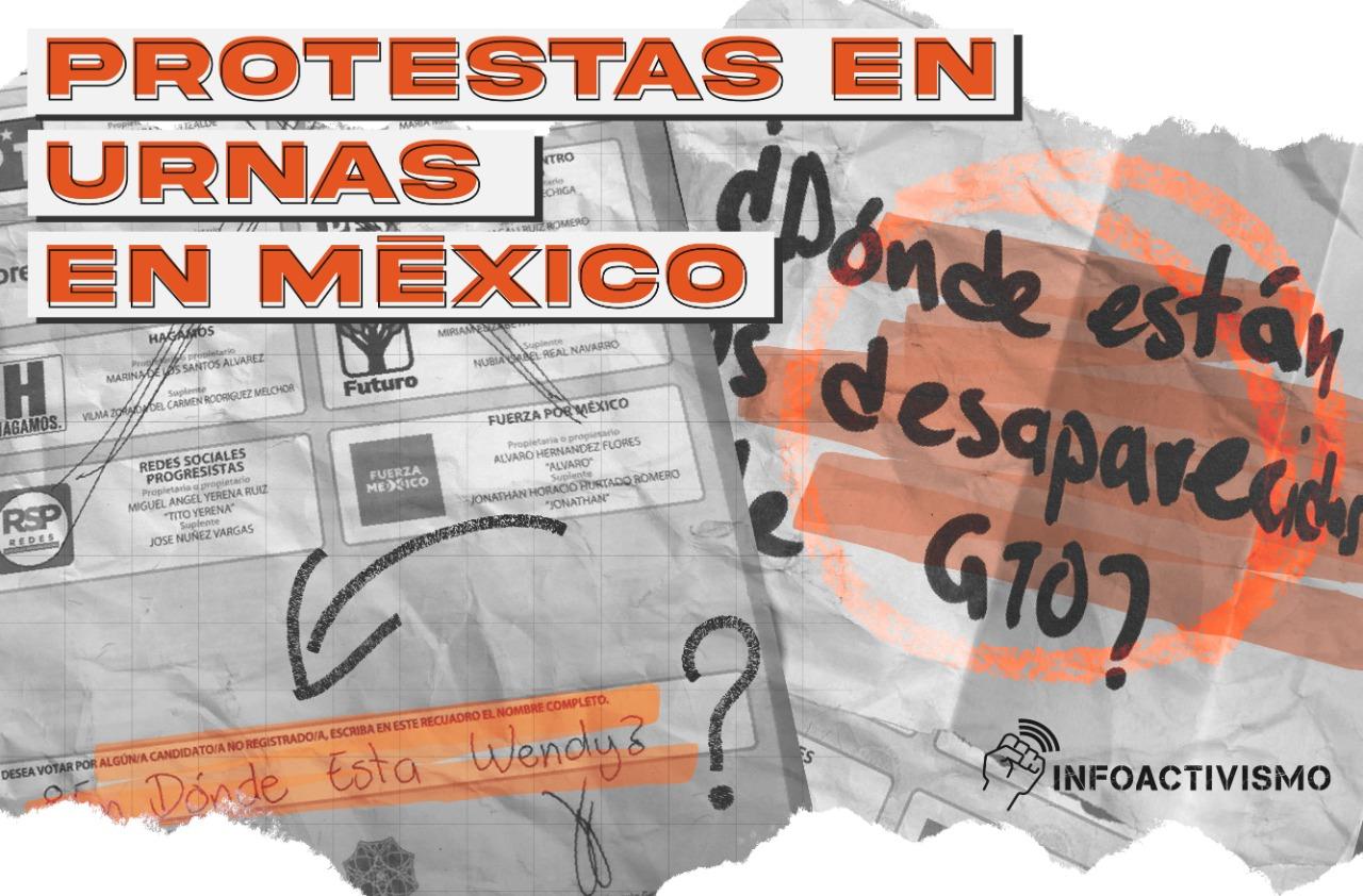 protestas elecciones MX